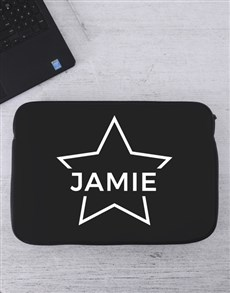 gifts: Personalised Star Laptop Sleeve!
