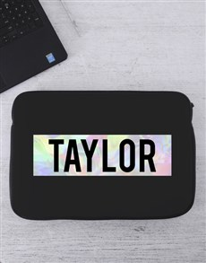 gifts: Personalised Name Laptop Sleeve!