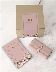 gifts: Personalised Pink Purse And Notebook!