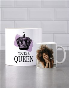 gifts: Personalised Queen Mug Tube!