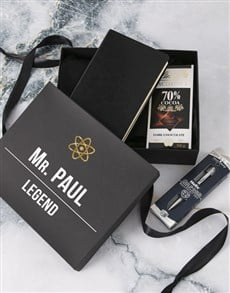 gifts: Personalised Goodies Filled Man Crate!