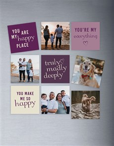 gifts: Personalised Set Of Magnets!