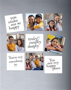 gifts: Personalised White Colour Magnets!