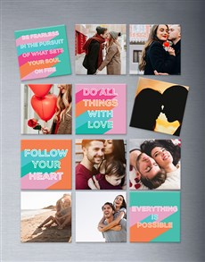 gifts: Personalised Encouragement Magnets Large!
