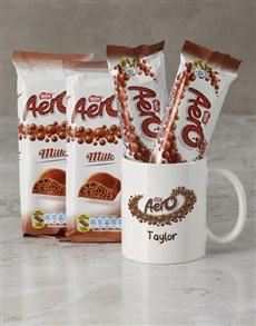 gifts: Personalised Aero Mug Hamper!
