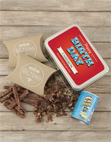 gifts: Personalised Birthday Bliss Snack Tin!