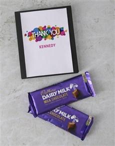 gifts: Personalised Thanks Cadbury Card!