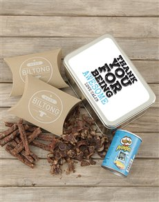 gifts: Personalised Thanks For Being Snack Tin!
