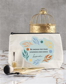 gifts: Personalised Graceful Cosmetic Bag!
