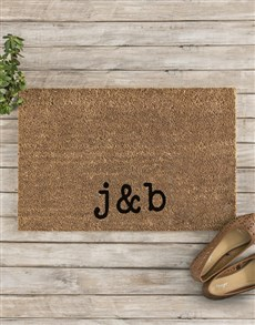 gifts: Personalised Initials Doormat!