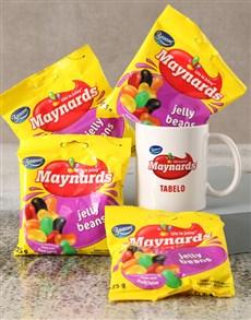 gifts: Personalised Jelly Beans Mug Gift Set!