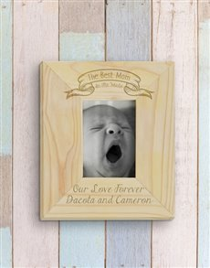 gifts: Personalised Best Mom Photo Frame!
