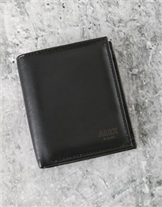 gifts: Personalised Polished And Professional Wallet!