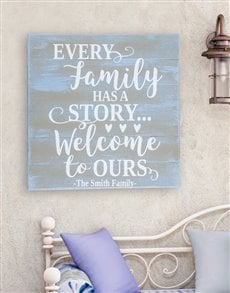 gifts: Personalised Our Story Wall Art!