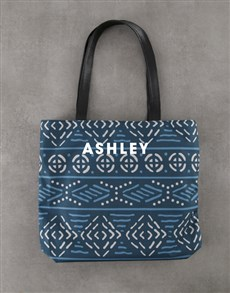 gifts: Personalised Charming Patterned Tote Bag !