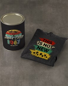 gifts: Personalised Retro This Is Not New Hoodie!