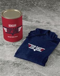 gifts: Personalised Top Dad Hoodie!