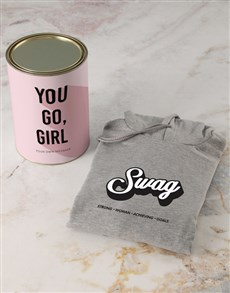 gifts: Personalised S.W.A.G Hoodie!