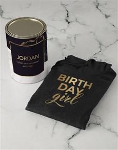 gifts: Personalised Birthday Girl Hoodie!