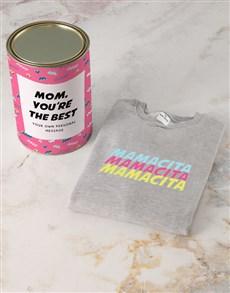 gifts: Personalised Mamacita Sweatshirt!