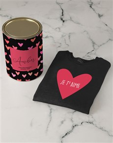gifts: Personalised Sweetheart Sweater!
