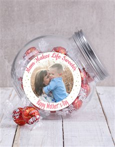 gifts: Personalised Mom Photo Candy Jar!