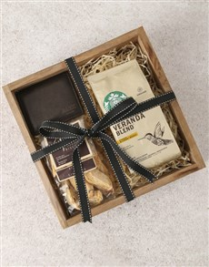 gifts: Personalised Wallet And Coffee Box!