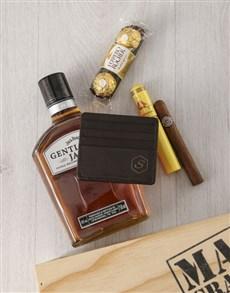 gifts: Personalised Wallet And Cigar Indulgence Box!