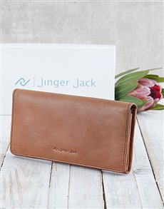 gifts: Personalised Tan Jinger Jack Claire Ladies Purse!