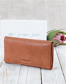 gifts: Personalised Caramel Jinger Jack Ladies Purse!