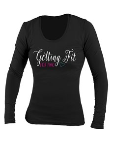 gifts: Personalised Fit For Two Longsleeve T Shirt!