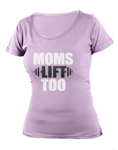 gifts: Personalised Lavender Moms Lift Too T Shirt!