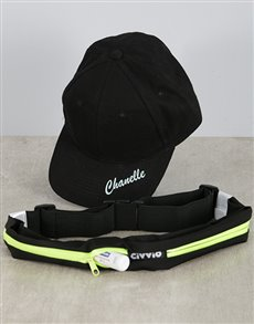 gifts: Personalised Cap and Activity Belt!