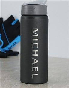 gifts: Personalised Aluminium Water Bottle!