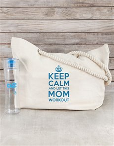 gifts: Personalised Mom Bag and Workout Bottle!