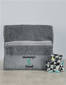 gifts: Personalised Mommys Towel Combo!