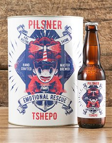 gifts: Personalised Emotional Rescue Craft Beer!