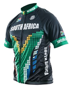 gifts: Mens South Africa Cycling Shirt!