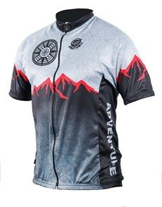 gifts: Mens Adventure Cycling Shirt!