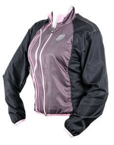 gifts: Personalised Ladies Pink Pac Me Shell Jacket!