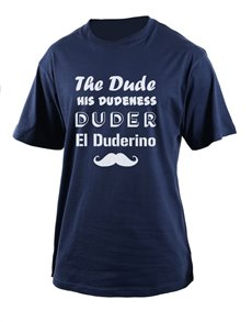 gifts: Personalised Navy Dude T Shirt!