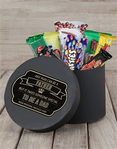 gifts: Personalised Special Dad Choc Hat Box!