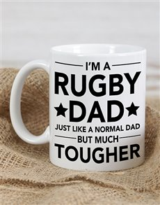 gifts: Personalised Rugby Dad Mug!
