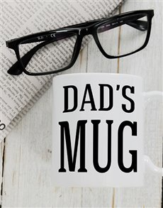 gifts: Personalised Dads Mug!