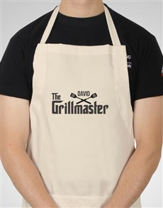 gifts: Personalised Grillmaster Apron!