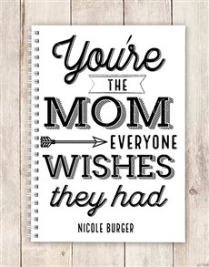 gifts: Personalised Wishful Mom Notebook!