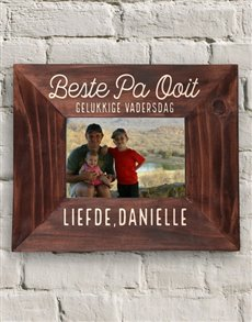 gifts: Personalised Beste Pa Ooit Frame!