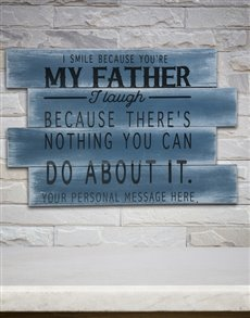 gifts: Personalised My Father Panel Artwork!