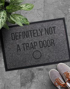 gifts: Personalised Trap Door Doormat!