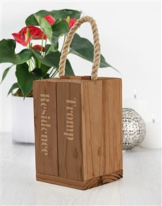 gifts: Personalised Residence Doorstopper!